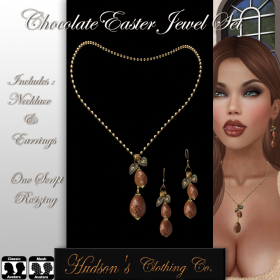 Chocolate Easter Jewel Set POSTER